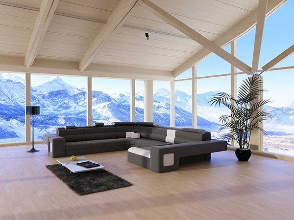 Zimmer im Haus mit Elektrisch beheiztem Glas